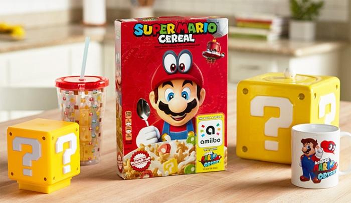 Super Mario Cereal (Nintendo/Kellogg's)