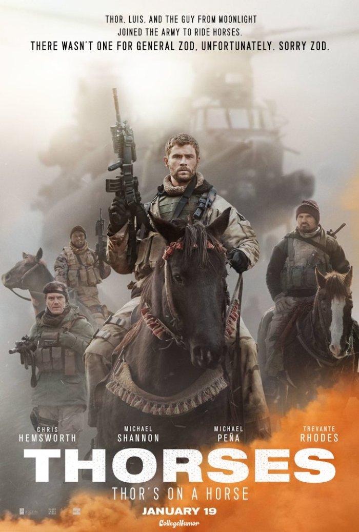 Horse Soldiers (CollegeHumor)