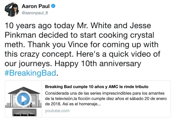 Aaron Paul/Twitter