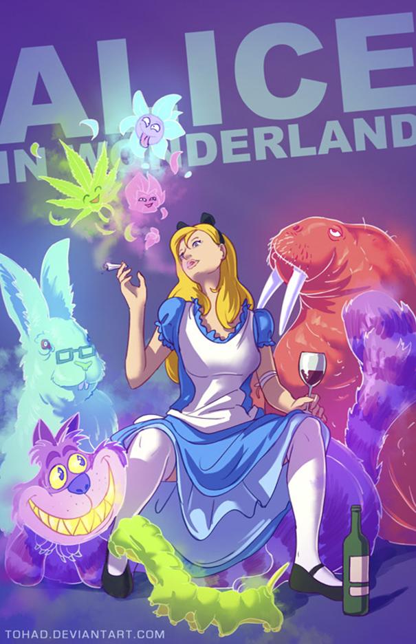 Alice nel Paese delle Meraviglie (Tohad Deviantart)
