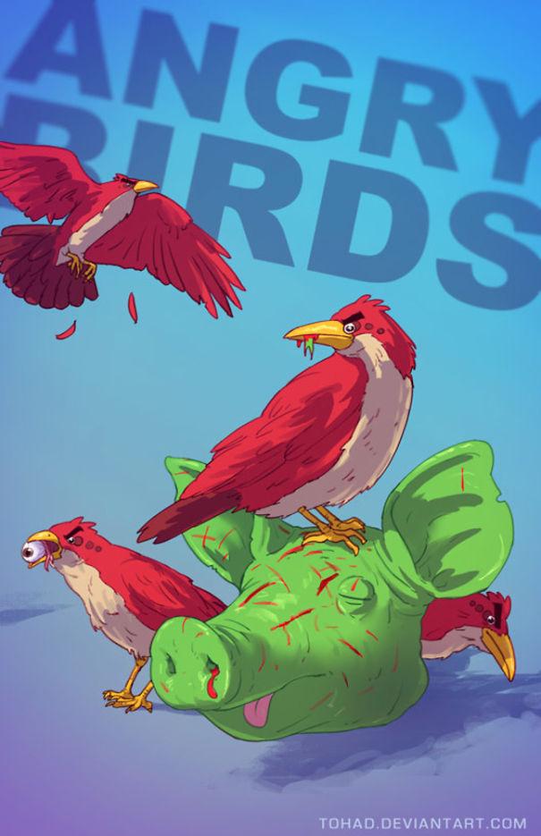 Angry Birds (Tohad Deviantart)