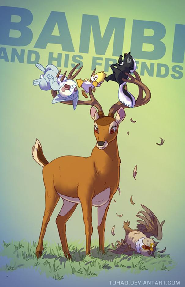 Bambi (Tohad Deviantart)