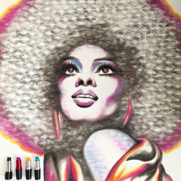 Diana Ross (Lipstick Lex)