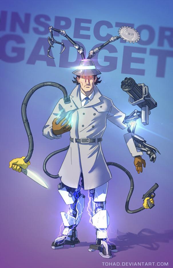 Ispettore Gadget (Tohad Deviantart)