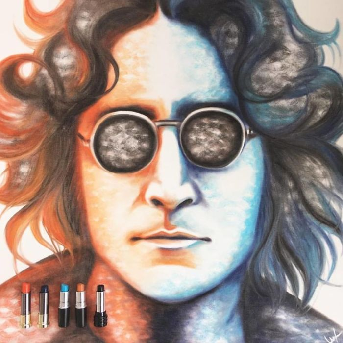 John Lennon (Lipstick Lex)