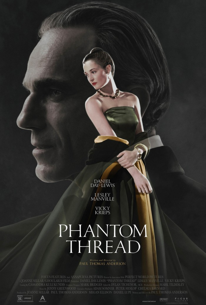 Locandina Phantom Thread (Universal Pictures)