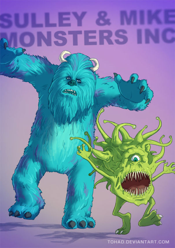 Monsters Inc. (Tohad Deviantart)
