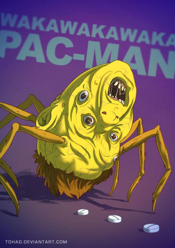 Pac-Man (Tohad Deviantart)