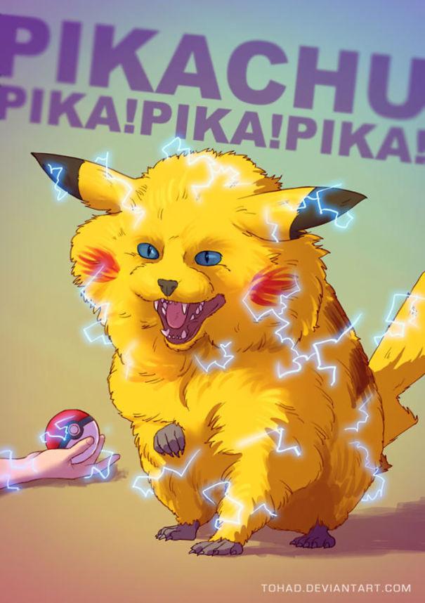 Pikachu (Tohad Deviantart)