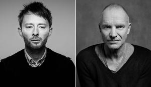 Thom Yorke e Sting