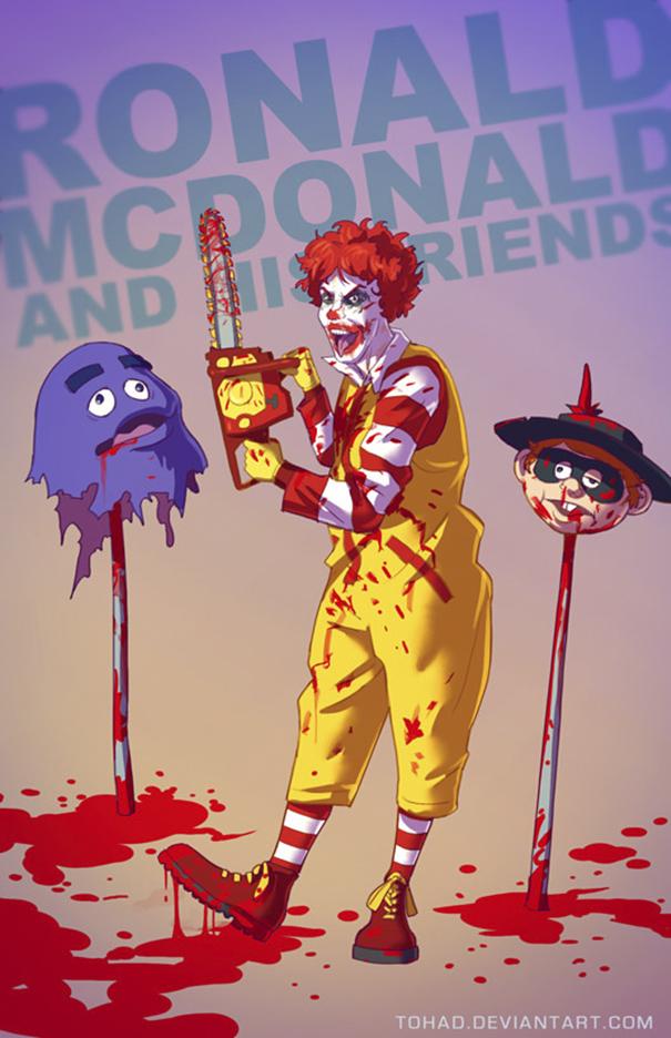 Ronald McDonald (Tohad Deviantart)