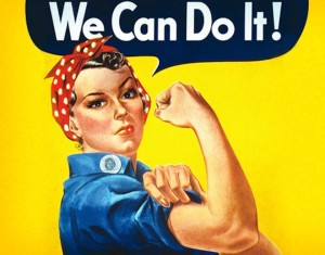 Rosie the Riveter (J. Howard Miller)