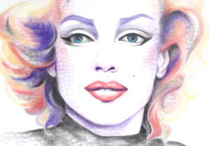 Marilyn Monroe (Lipstick Lex)