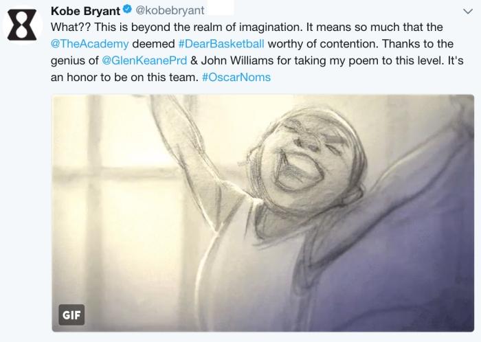 Kobe Bryant/Twitter
