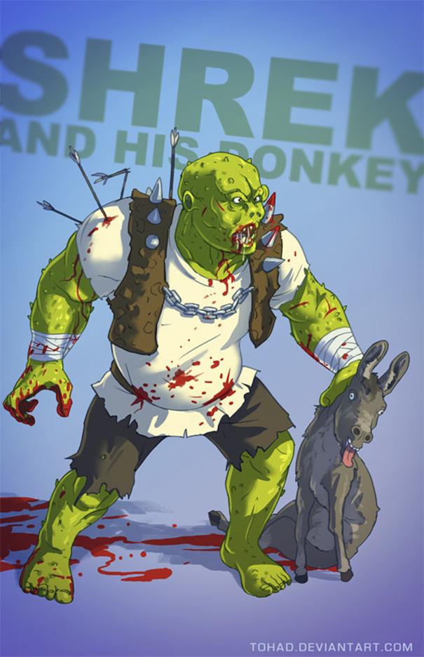 Shrek (Tohad Deviantart)