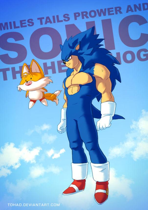 Sonic (Tohad Deviantart)