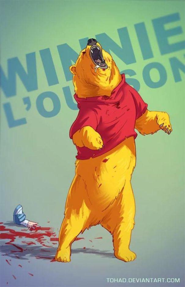 Winnie the Pooh (Tohad Deviantart)