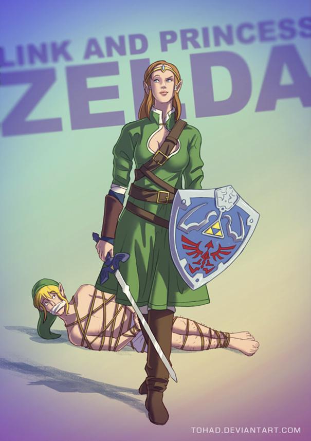 Zelda (Tohad Deviantart)