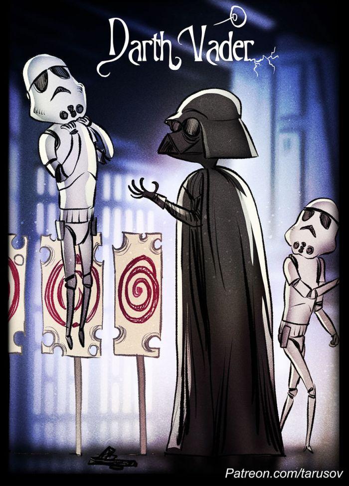 Darth Vader (Andrew Tarusov)