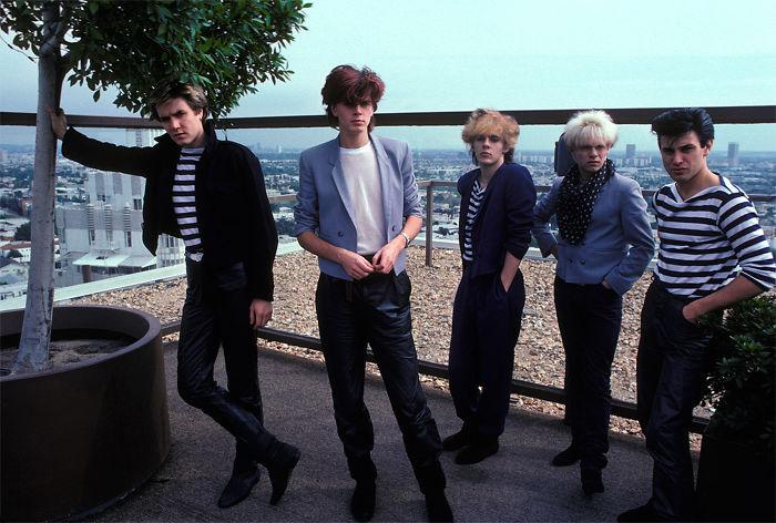 Duran Duran, 1982 (Brad Elterman)