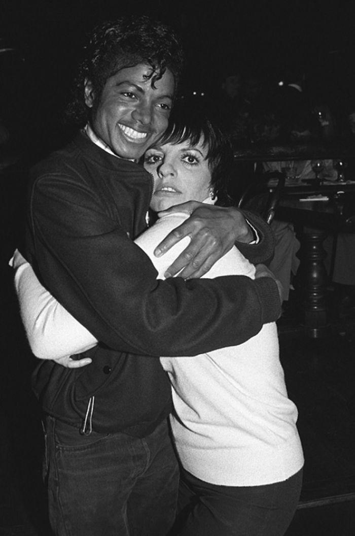Michael Jackson e Liza Minnelli, 1980 (Brad Elterman)
