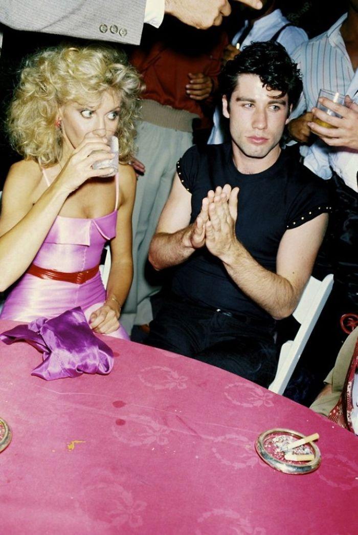 Olivia Newton-John e John Travolta, 1978 (Brad Elterman)