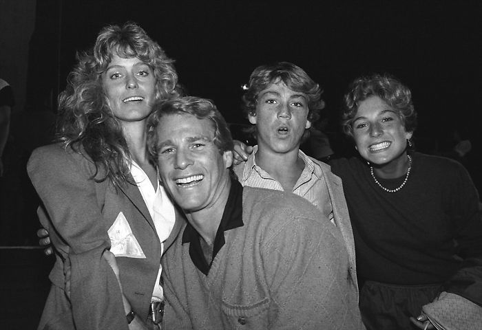 Farrah Fawcett e Ryan O'Neil, 1980 (Brad Elterman)
