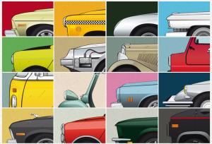 Cars and Films series (Jesús Prudencio)