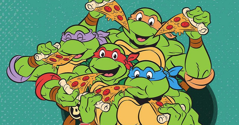 Teenage Mutant Ninja Turtles: The Official Pizza Cookbook (Pocket Books)