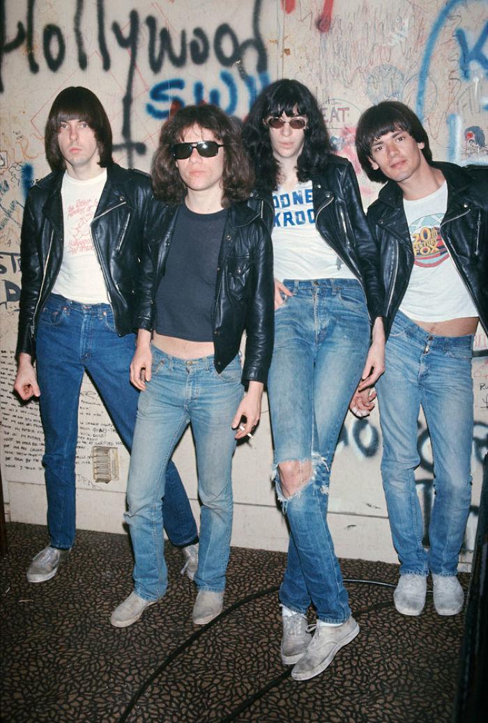 The Ramones, 1978 (Brad Elterman)