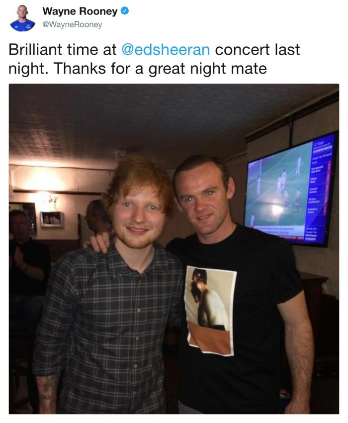 Wayne Rooney/Twitter