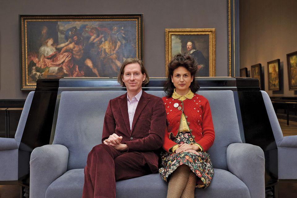 Wes Anderson e Juman Malouf (KHM-Museumsverband)