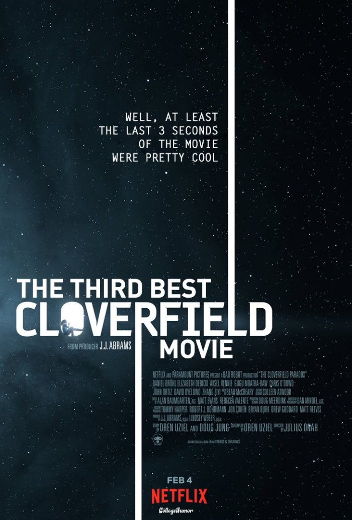 The Cloverfield Paradox (CollegeHumor)