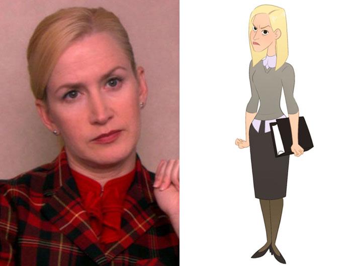 Angela Martin (Marisa Livingston)
