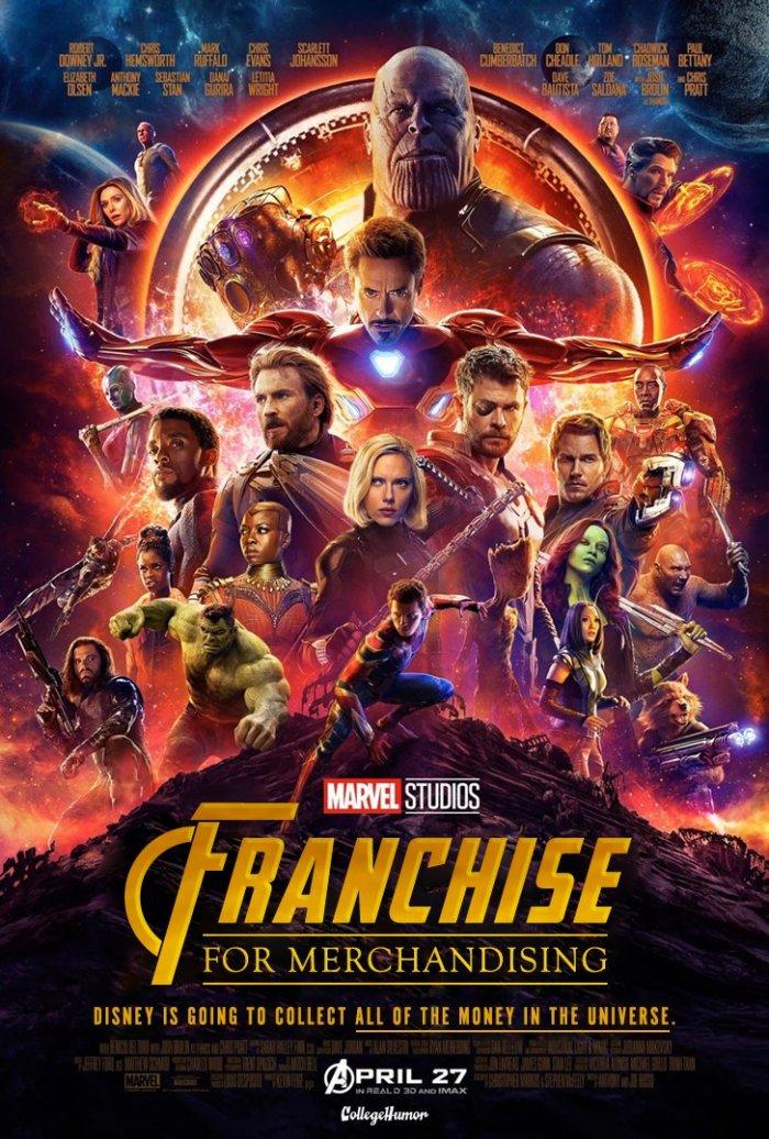 Avengers: Infinity War (CollegeHumor)