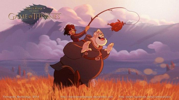 Bran and Hodor (Combo Estudio)