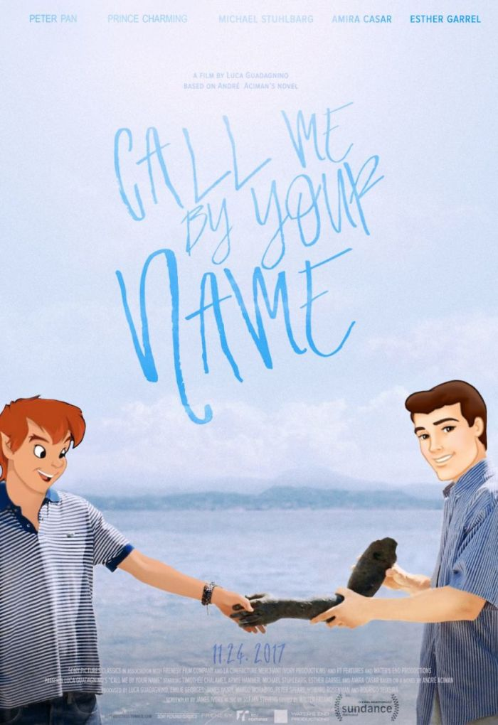 Call me by your name/Peter Pan (Gregory Masouras)
