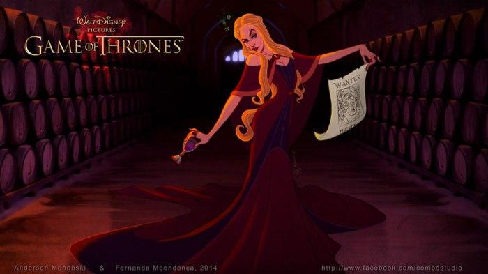 Cersei Lannister (Combo Estudio)