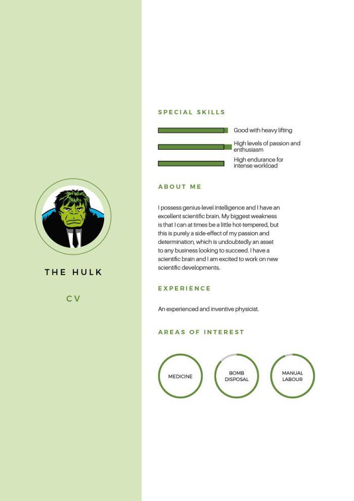 Hulk (Silver Swan Recruitment)