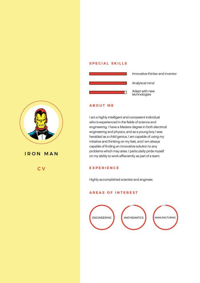 Iron Man (Silver Swan Recruitment)