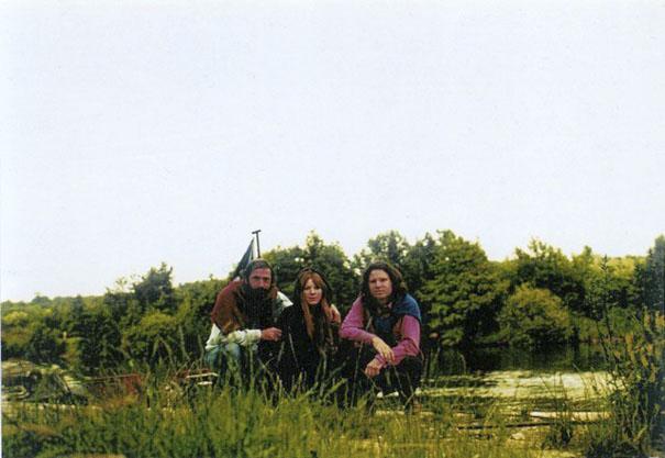 Alan Ronay, Pamela Courson e Jim Morrison (Alan Ronay)