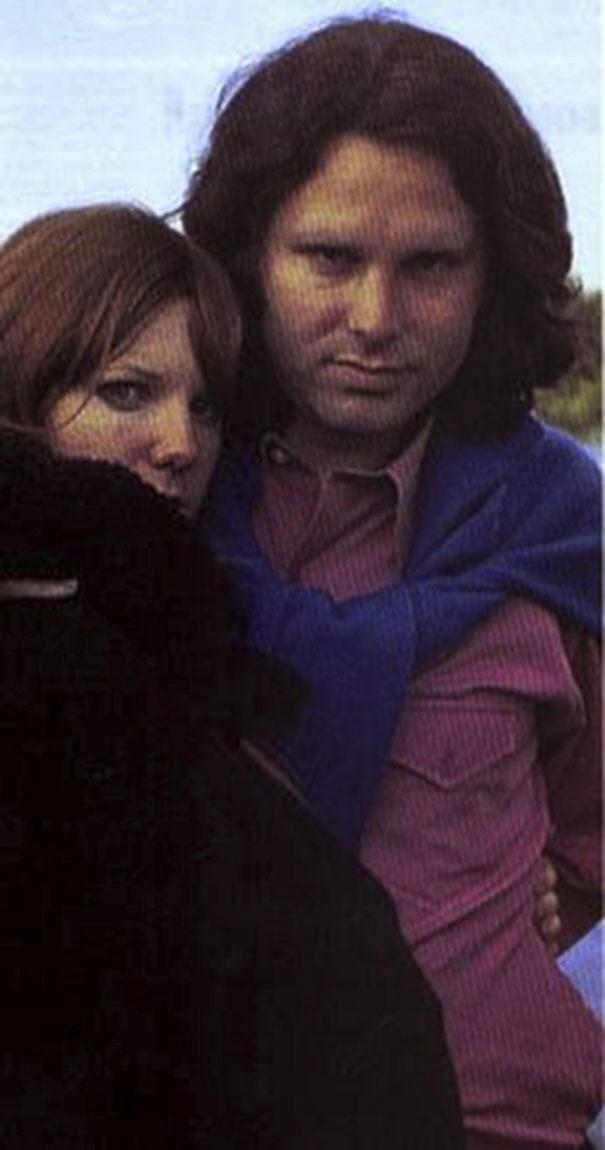 Pamela Courson e Jim Morrison (Alan Ronay)