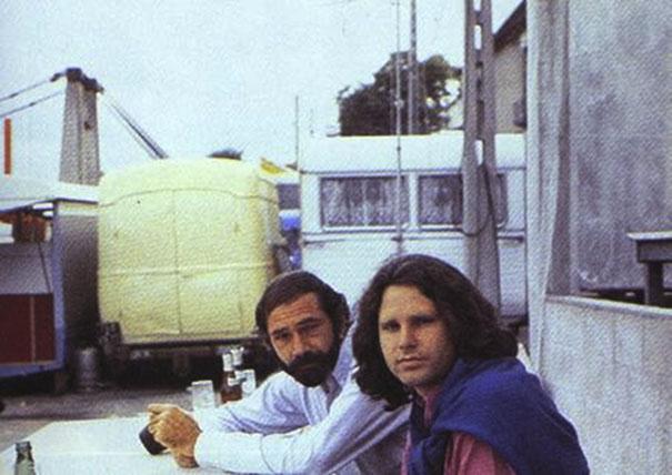 Alan Ronay e Jim Morrison (Alan Ronay)
