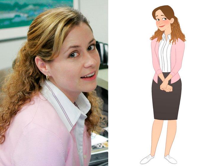 Pam Beesley (Marisa Livingston)