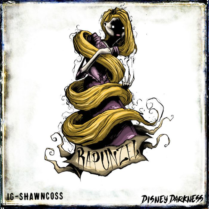 Rapunzel (Shawn Coss/Disney Darkness)