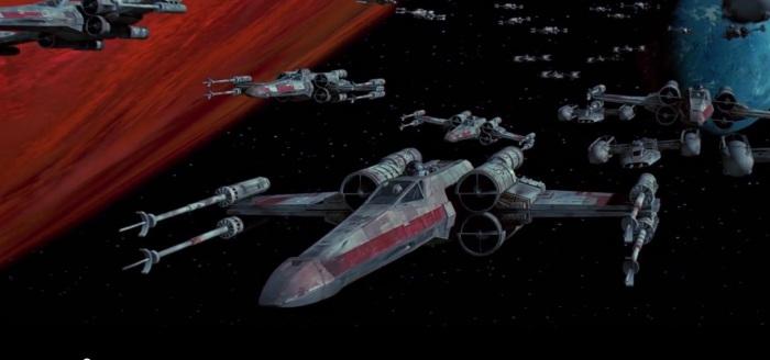 T-65 X-Wing Starfighter (Star Wars/LucasFilm)