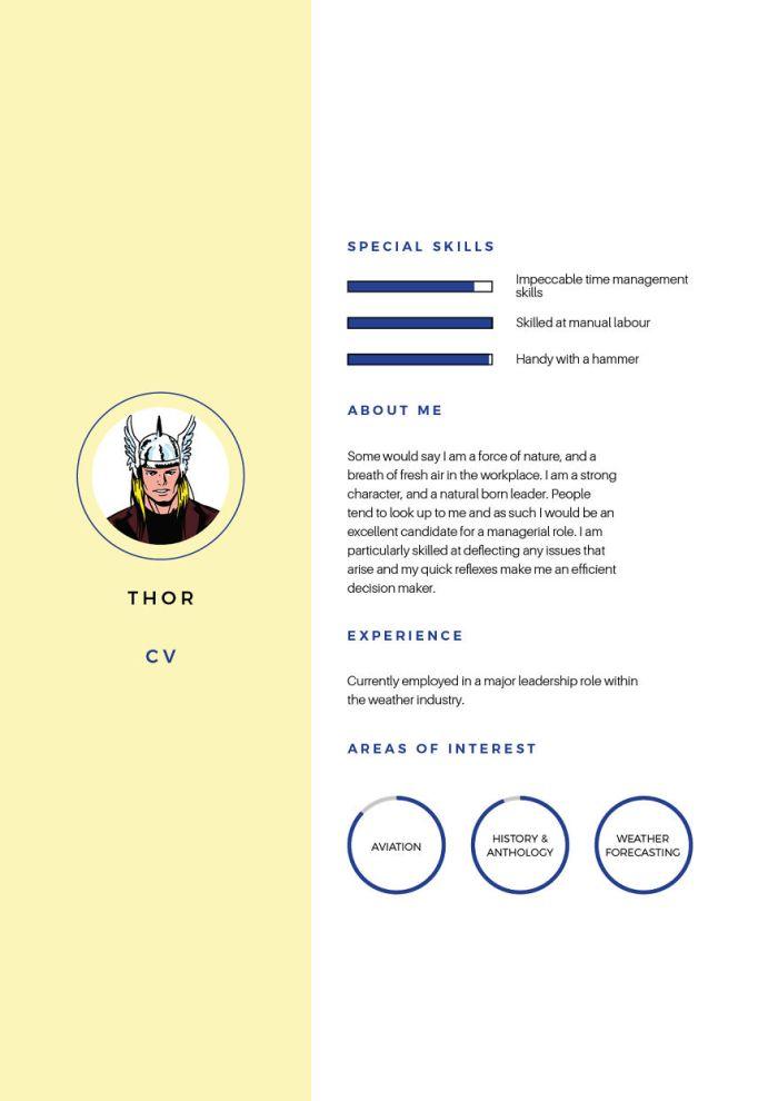Thor (Silver Swan Recruitment)