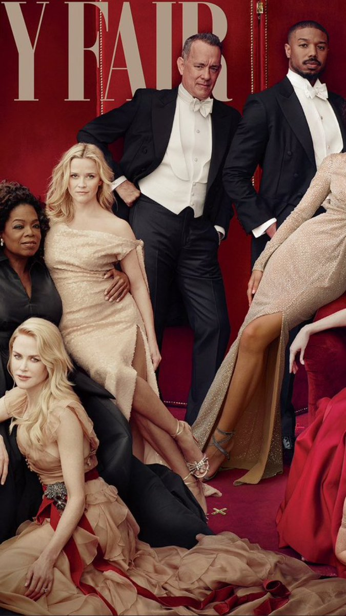 Reese Witherspoon con tre gambe (Vanity Fair)