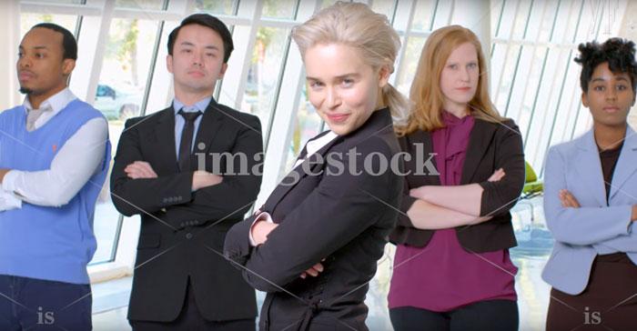 Emilia Clarke (imagestock)