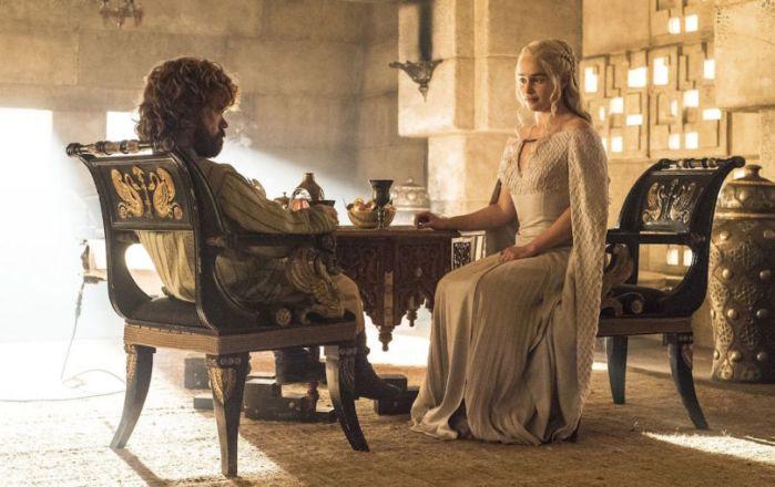 Tyrion Lannister e Daenerys Targaryen (Game of Thrones/HBO)